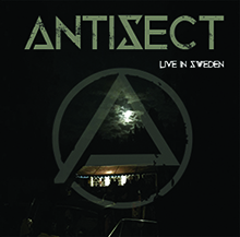 Antisect- Live in Sweden Cd Cover