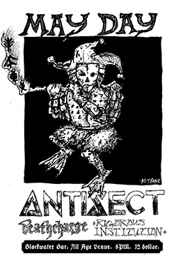 Antisect Portland 2018 Flyer