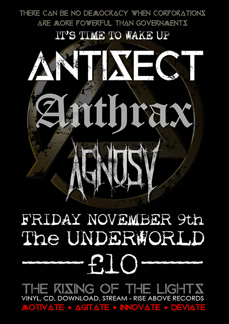 Antisect Underworld Poster