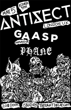 Antisect Vancouver 2018 Flyer